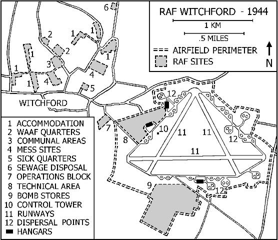 Maps Showing The Locations Of Witchford And Gannes